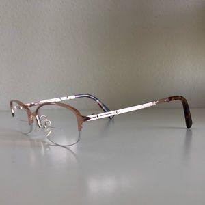 Rose gold /tortoise Michael Kors eyeglass frames